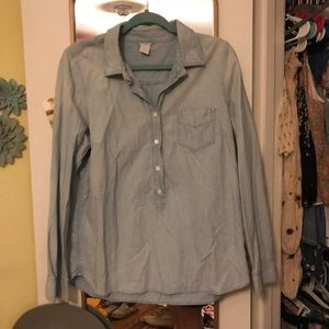 JCREW Buttondown Chambray